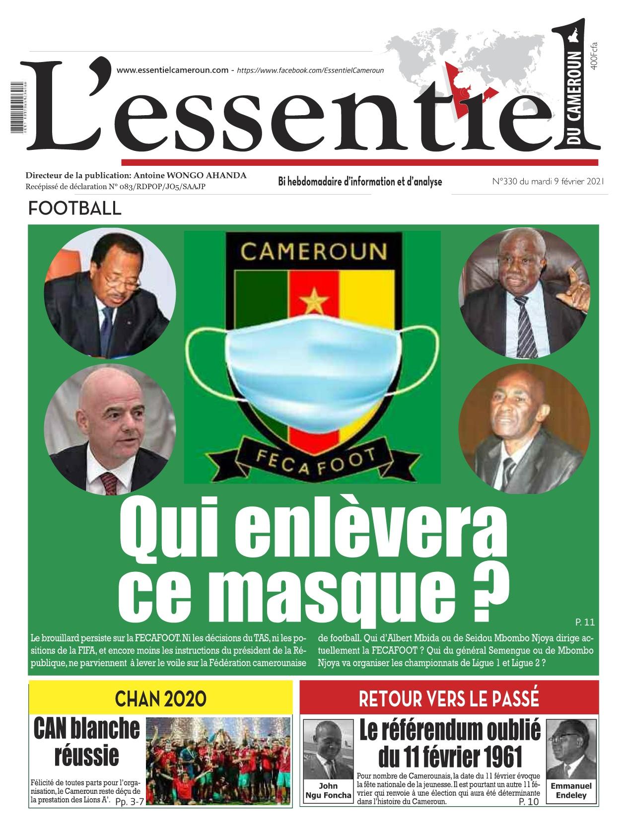 L'essentiel du Cameroun - 09/02/2021