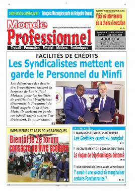 Monde Professionnel - 25/02/2021
