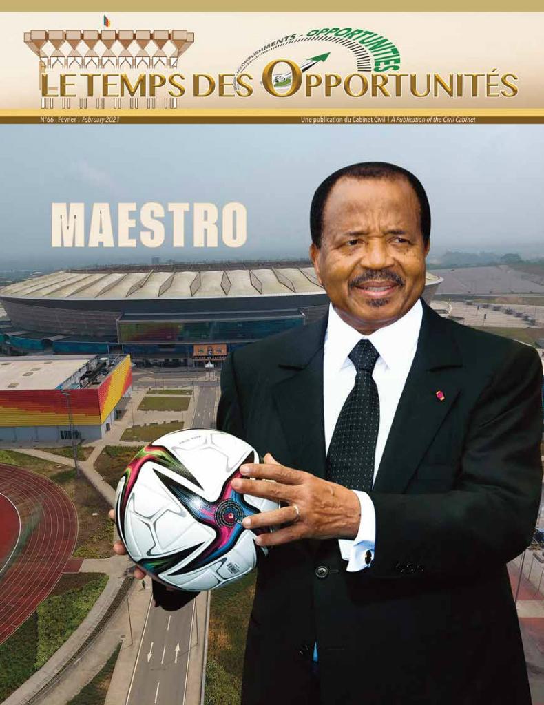 Présidence de la République du Cameroun  - 22/03/2021