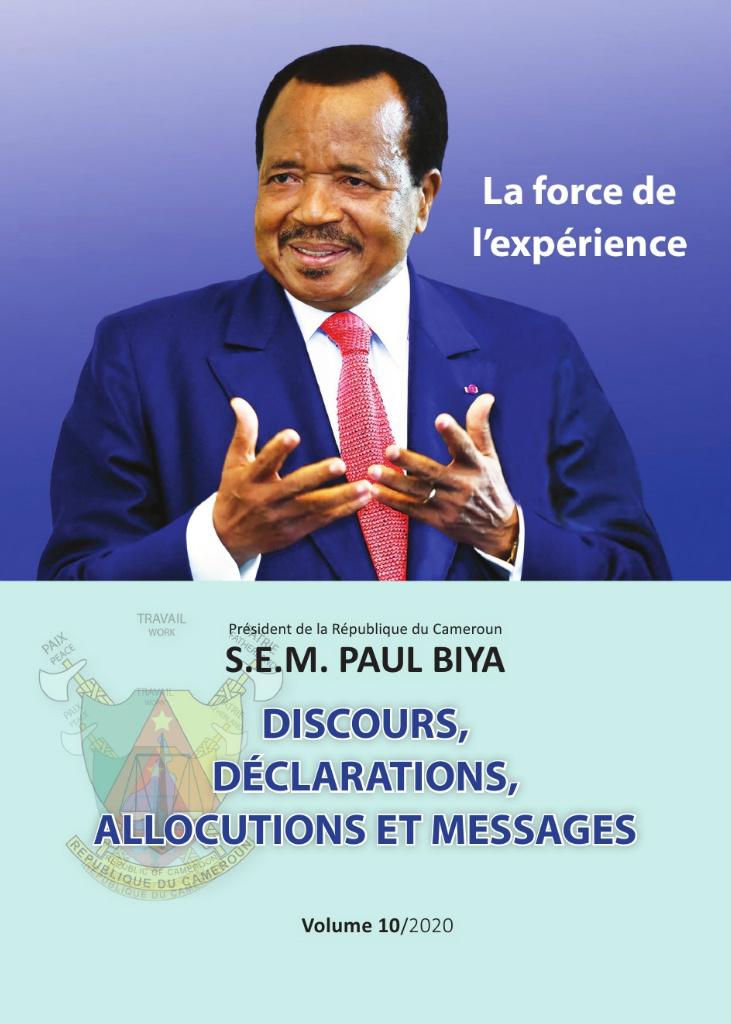Présidence de la République du Cameroun  - 17/03/2021
