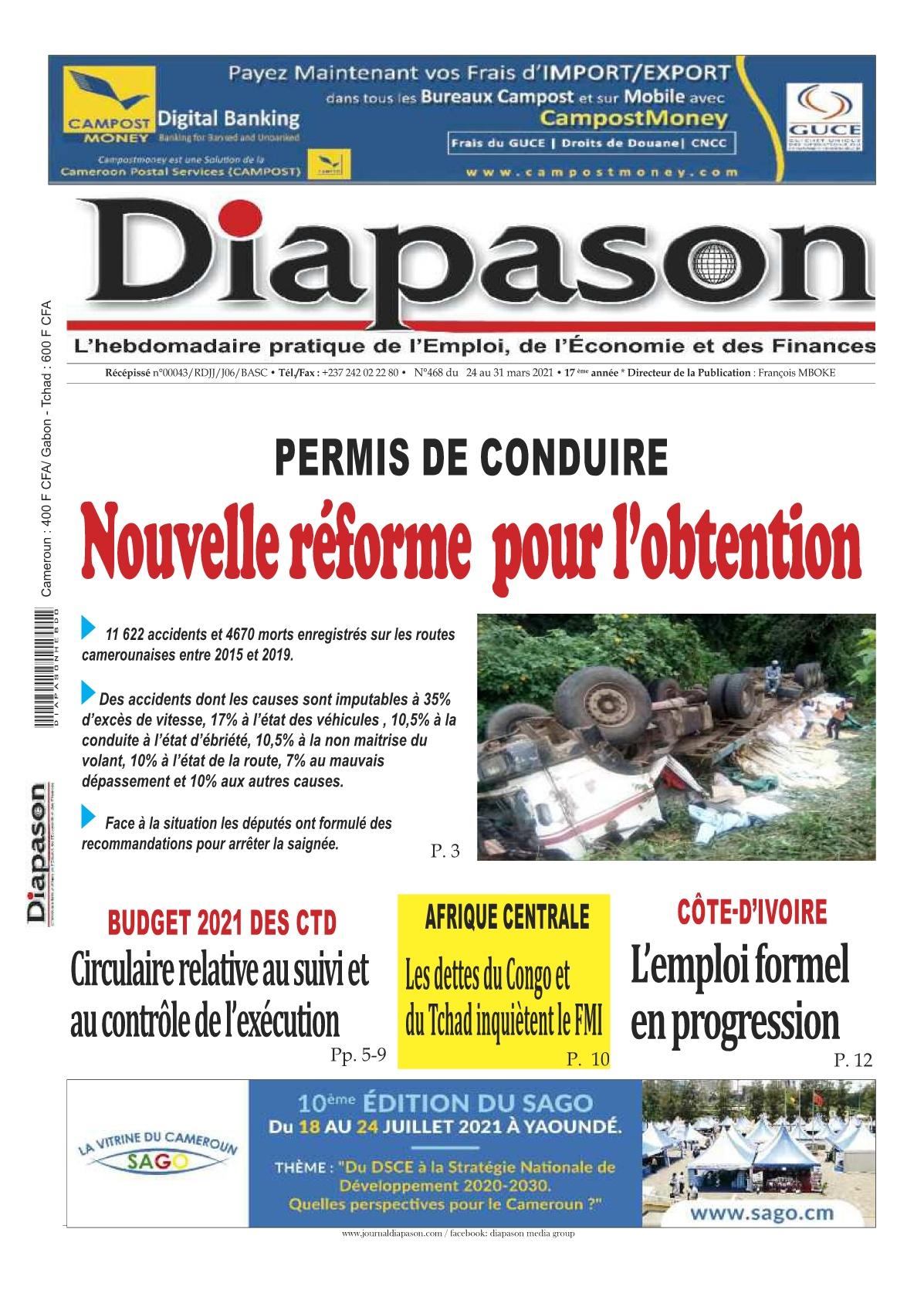 Diapason - 25/03/2021