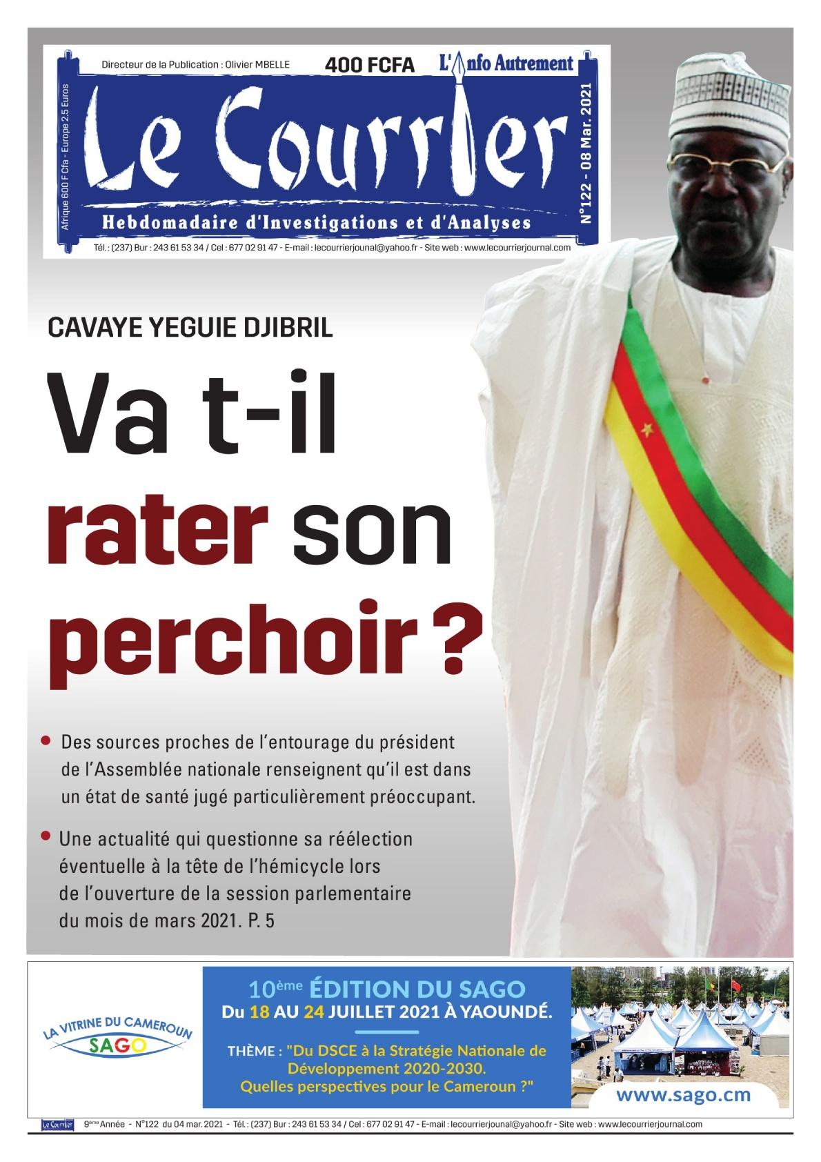 LE COURRIER - 08/03/2021