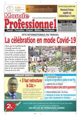 Monde Professionnel - 29/04/2021