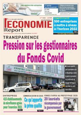 Le Quotidien de l'Economie - 12/04/2021