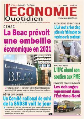 Le Quotidien de l'Economie - 15/04/2021