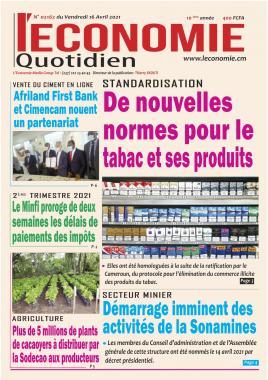 Le Quotidien de l'Economie - 16/04/2021