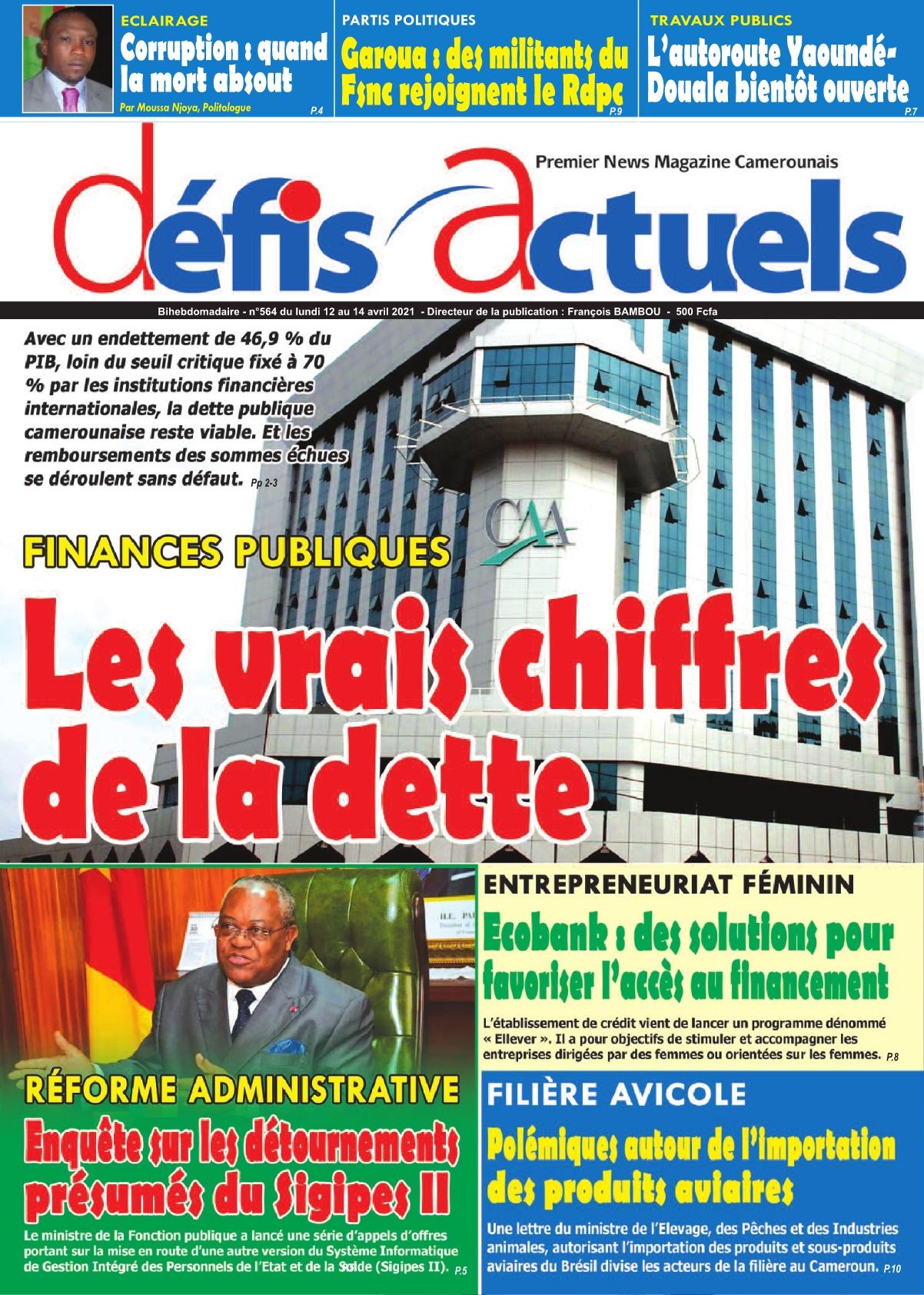Défis Actuels - 12/04/2021