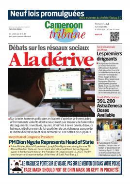 Cameroon Tribune - 19/04/2021
