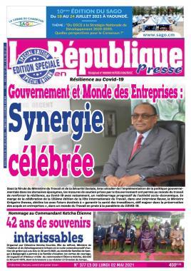 LA REPUBLIQUE PRESSE - 03/05/2021