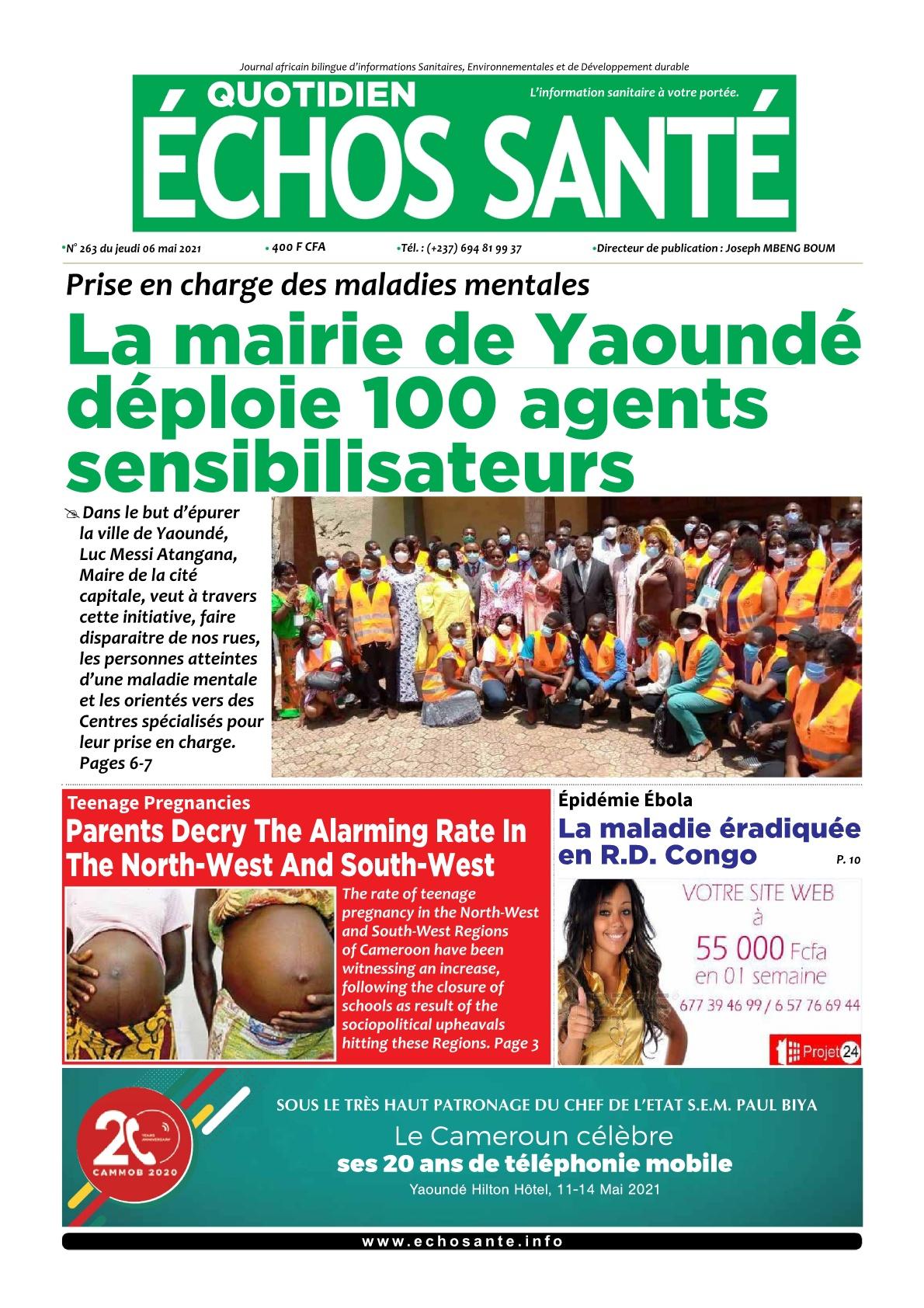 Echos Santé - 06/05/2021
