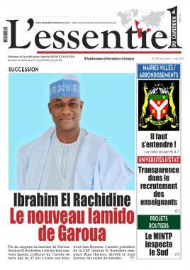 L'essentiel du Cameroun - 11/05/2021
