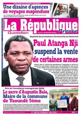 LA REPUBLIQUE PRESSE - 07/05/2021