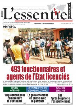 L'essentiel du Cameroun - 25/05/2021