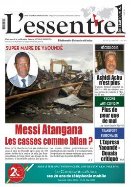 L'essentiel du Cameroun - 05/05/2021