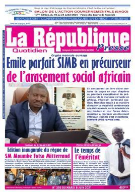 LA REPUBLIQUE PRESSE - 08/06/2021