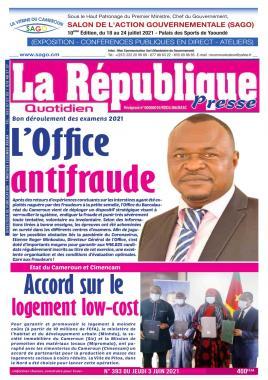LA REPUBLIQUE PRESSE - 04/06/2021
