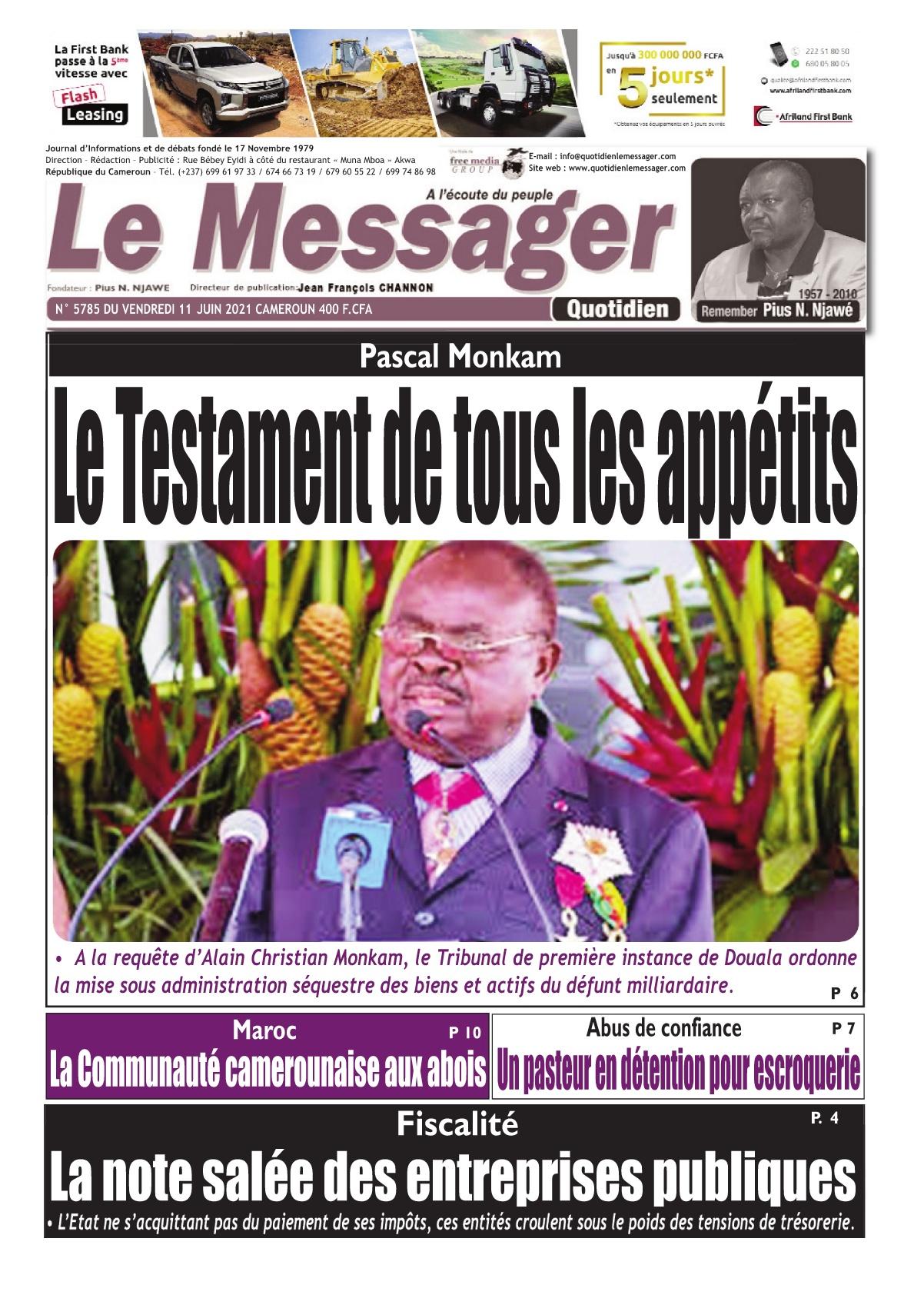 Le Messager - 11/06/2021