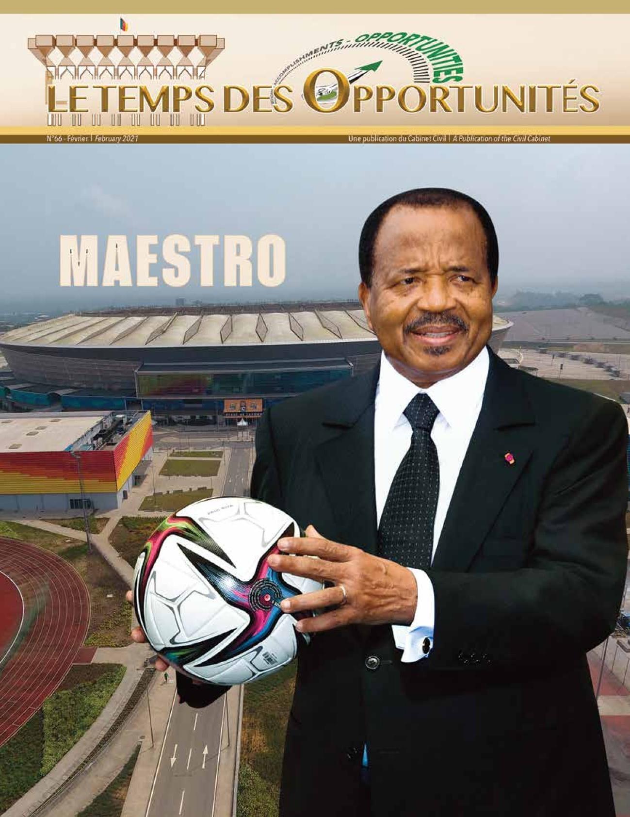Présidence de la République du Cameroun - 02/06/2021