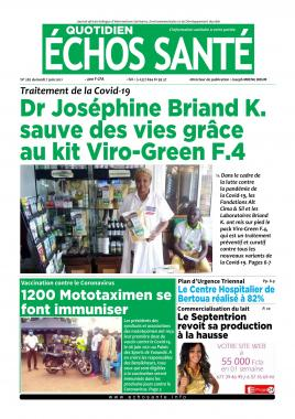 Echos Santé - 07/06/2021