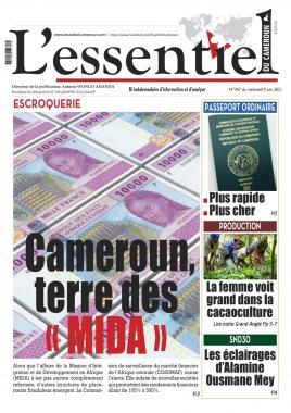 L'Essentiel du Cameroun - 09/06/2021