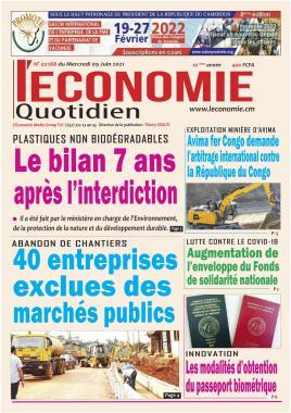Le Quotidien de l'Economie - 09/06/2021