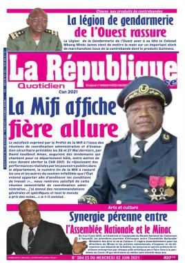 LA REPUBLIQUE PRESSE - 02/06/2021