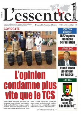 L'essentiel du Cameroun - 02/06/2021