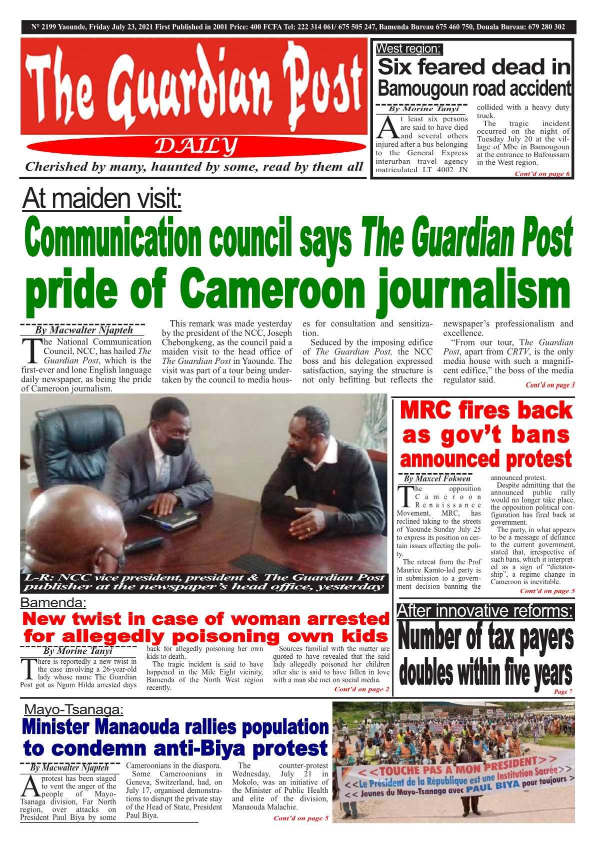 The Guardian Post - 23/07/2021