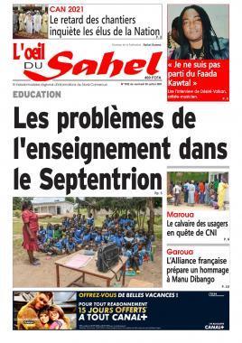 L'oeil du Sahel - 09/07/2021