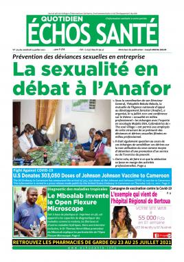 Echos Santé - 23/07/2021