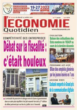 Le Quotidien de l'Economie - 13/07/2021