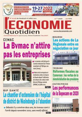 Le Quotidien de l'Economie - 16/07/2021