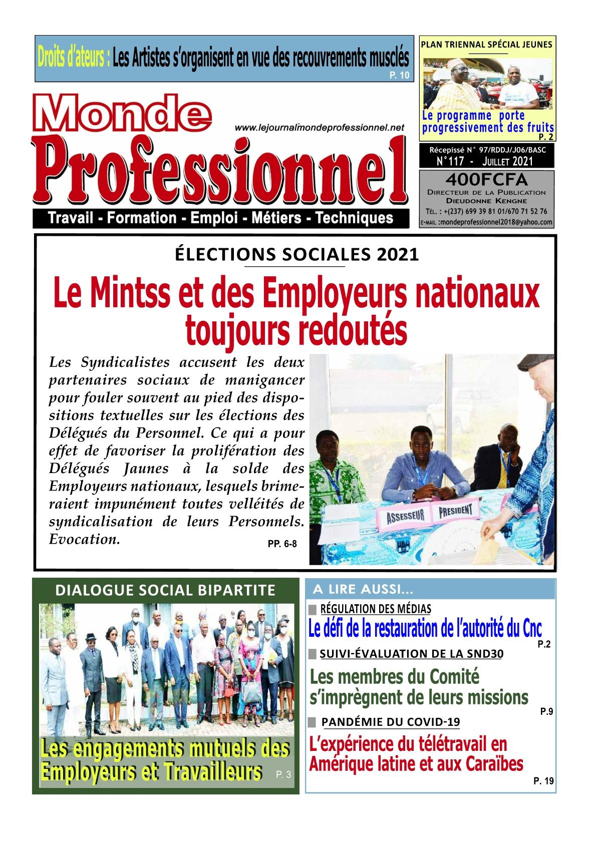Monde Professionnel - 22/07/2021