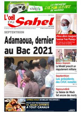 L'oeil du Sahel - 30/07/2021