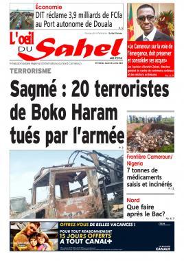 L'oeil du Sahel - 26/07/2021