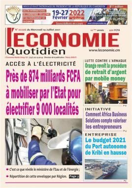 Le Quotidien de l'Economie - 14/07/2021