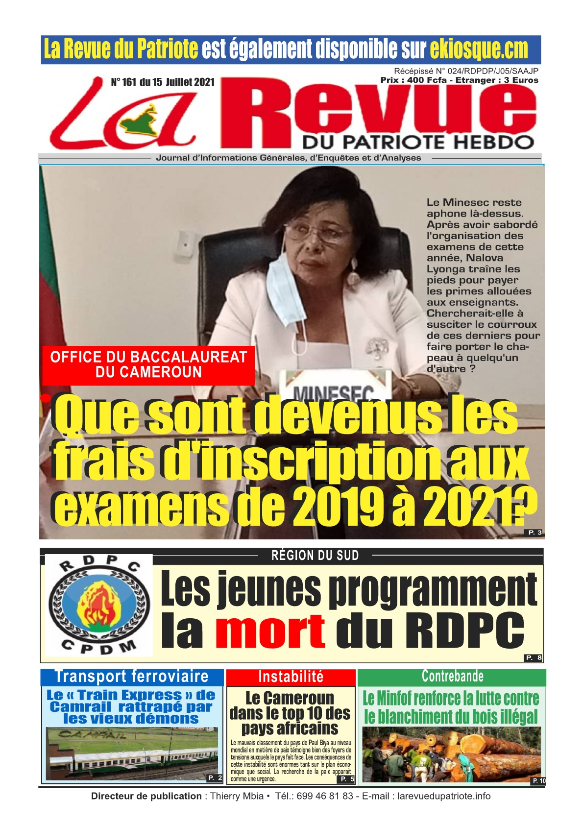 La Revue du Patriote - 15/07/2021