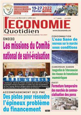 Le Quotidien de l'Economie - 21/07/2021