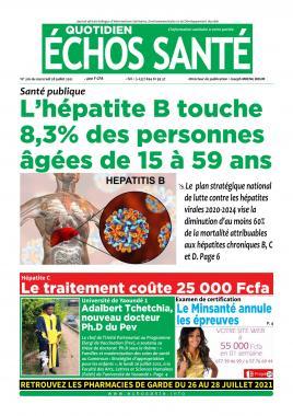 Echos Santé - 28/07/2021