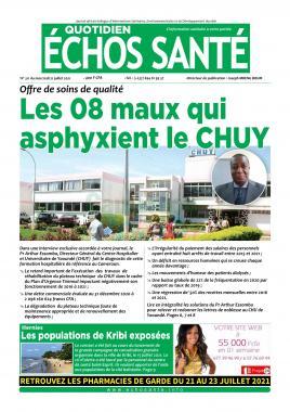 Echos Santé - 21/07/2021