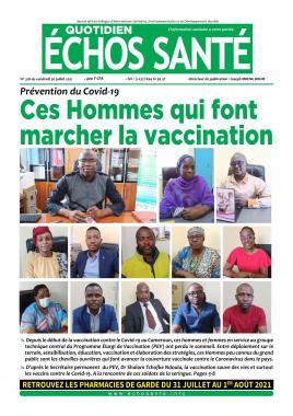 Echos Santé - 30/07/2021