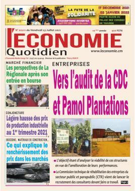 Le Quotidien de l'Economie - 23/07/2021