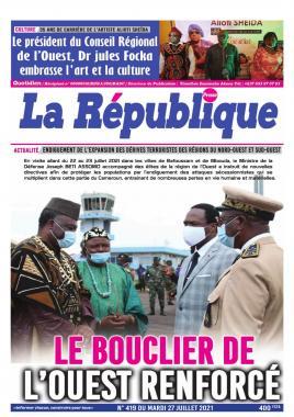 LA REPUBLIQUE PRESSE - 27/07/2021