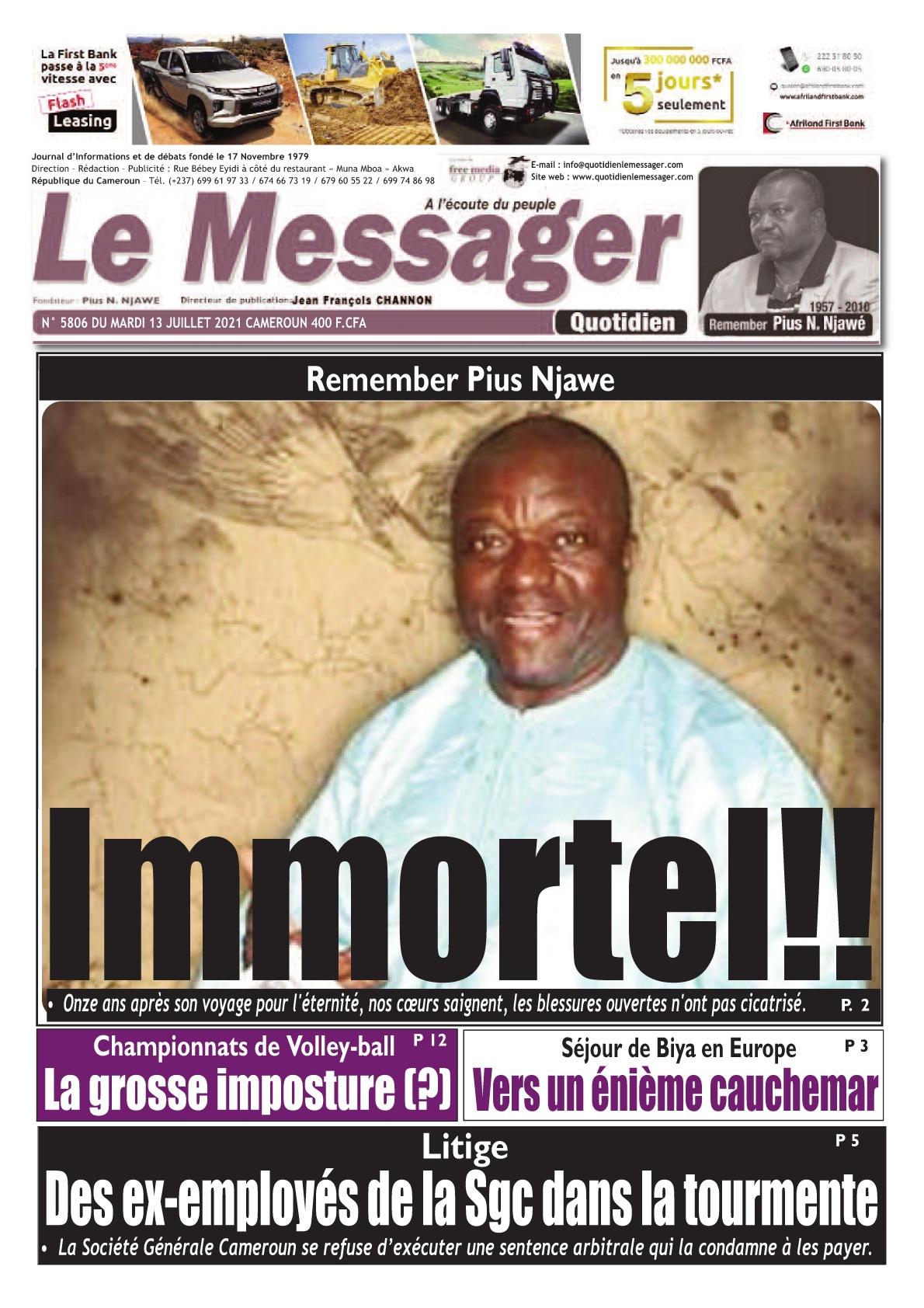 Le Messager - 13/07/2021