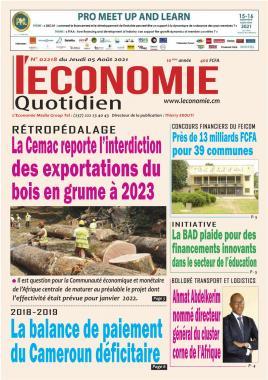 Le Quotidien de l'Economie - 05/08/2021