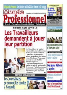 Monde Professionnel - 24/08/2021