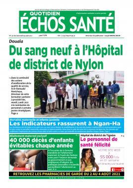 Echos Santé - 04/08/2021