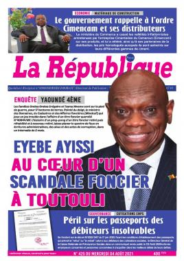 LA REPUBLIQUE PRESSE - 04/08/2021