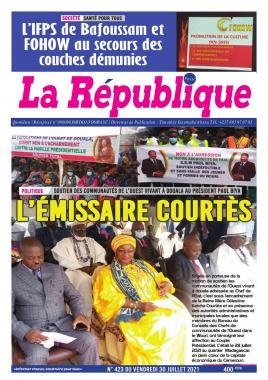 LA REPUBLIQUE PRESSE - 02/08/2021