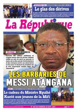 LA REPUBLIQUE PRESSE - 10/09/2021